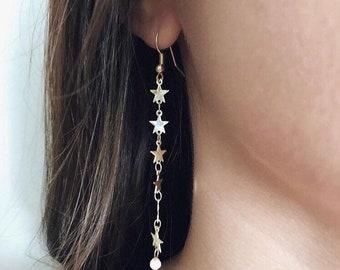 4ddc78e26da2bb Shoot star earrings | Etsy