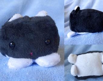 Tuxedo Cat Bean Plush - Small