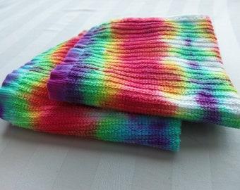 Rainbow Washcloths Set of Two
