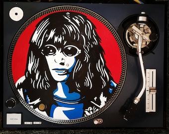 JOEY RAMONE Record / Vinyl Art - Painting - Upcycled
