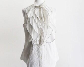 Moschino Cheap and chic sleeveless shirt