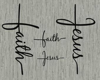 b6a66ddd73ae6a Faith Cross svg bundle