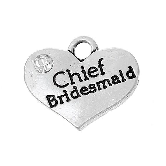 bride /& groom heart charms 16mm x 14mm wedding crafts 1 x bride  1 x groom