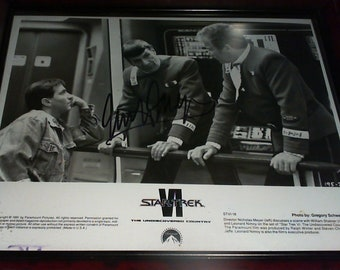 Star Trek VI The Undiscovered County Autograph Nichoal Meyer