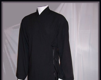 Black Robe Inspired by Star Wars 501 Long Sleeves Men's Floor Length with 4 ties S to XXL Wash & Dry