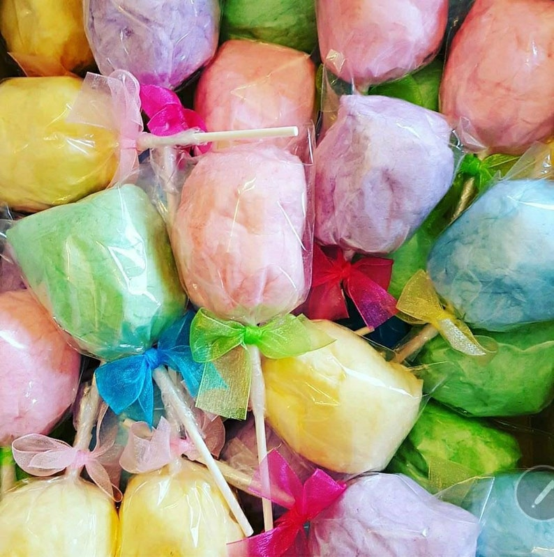 Cotton Candy Pop party favor for birthday party  baby shower wedding corporate event