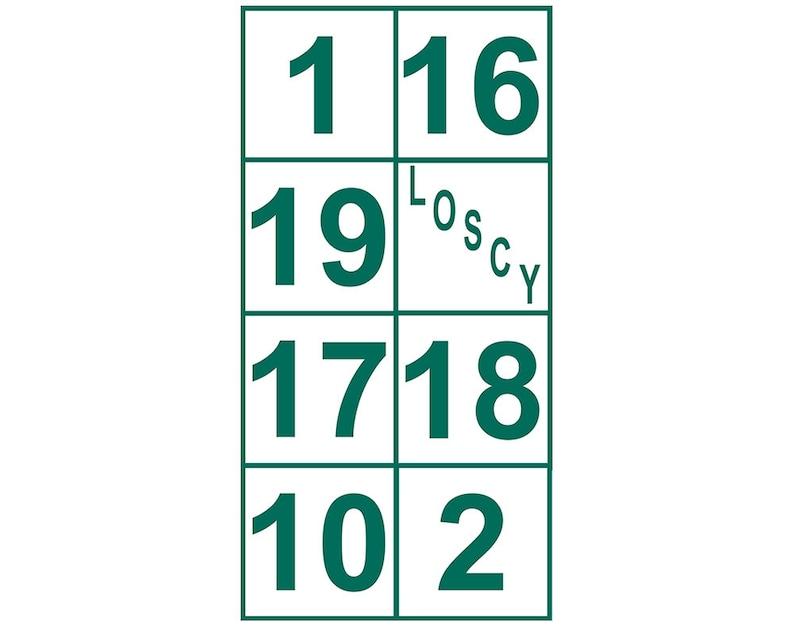 9133396b64d3 Boston Celtics Retired Numbers Sticker Banner 1 of 3