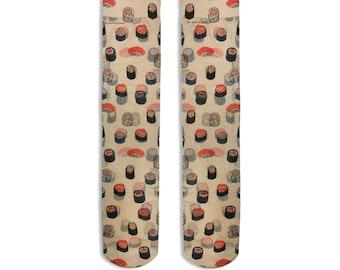 Stockings Print Sushi
