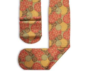 Stockings Printed Citrus