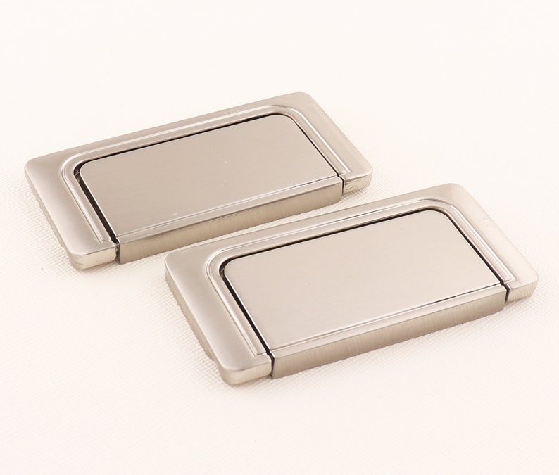 Matte silver New Chinese Pull Handles Drawer pull Cabin