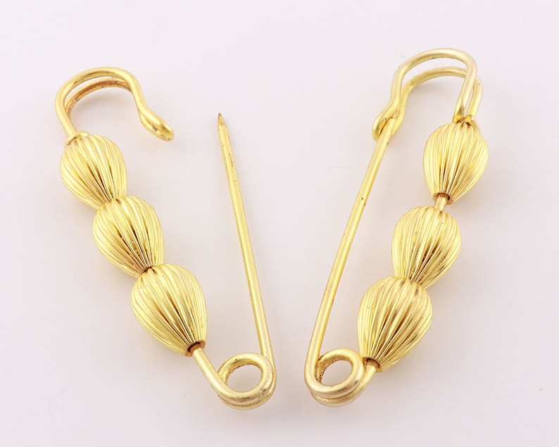 Gold Bulb Safety Pin sewing Safety Pin Gourd Pin decora