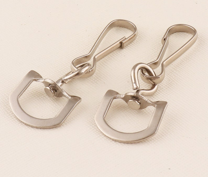Lanyard Swivel Hook Clips.Silver Lanyard Hook Swivel ho