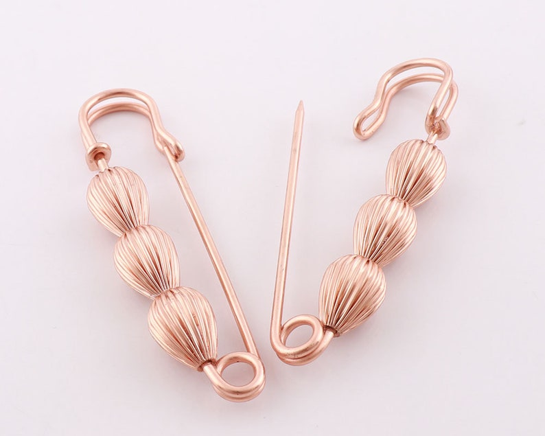 Rose Gold Safety Pin sewing Safety Pins decorative pins