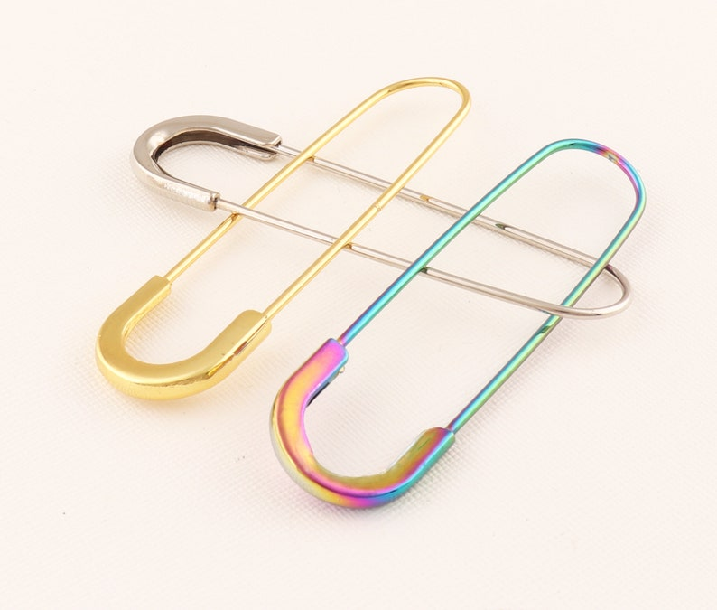 Safety Pins 16pcs Metal Pins Decorative pins Brooch Pin