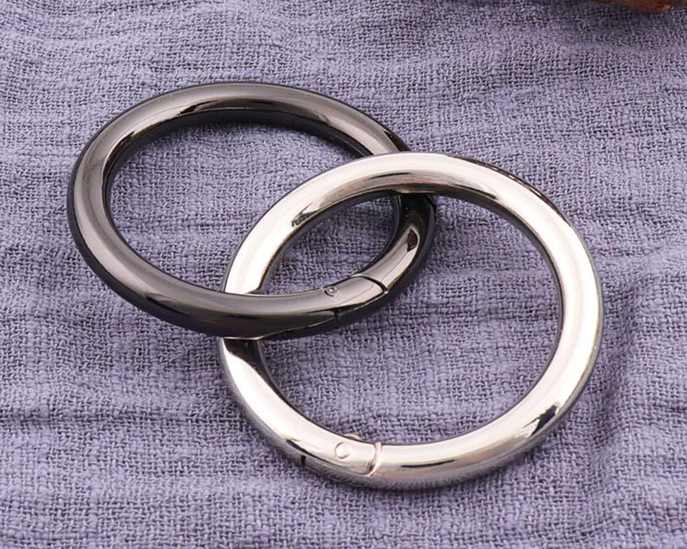 4pcs Gunmetal Trigger Round Ring Spring gate ring Push