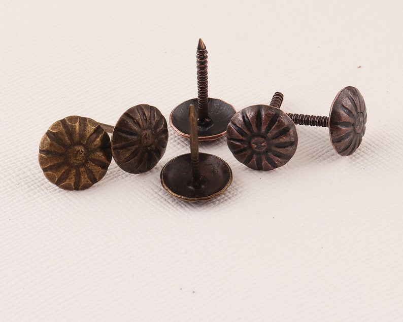 A Bronze Red copper Upholstery Tacks/Nails Furniture ta