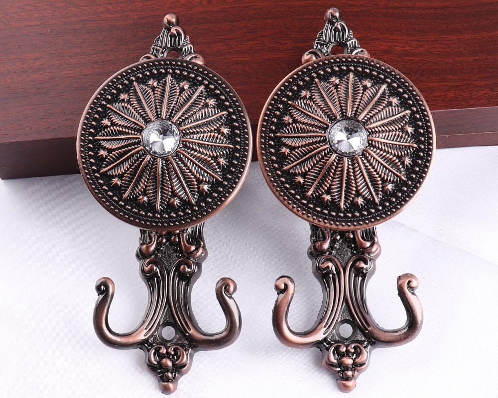 Copper Versatile Hook Wall Curtain Hook Decorative Hook