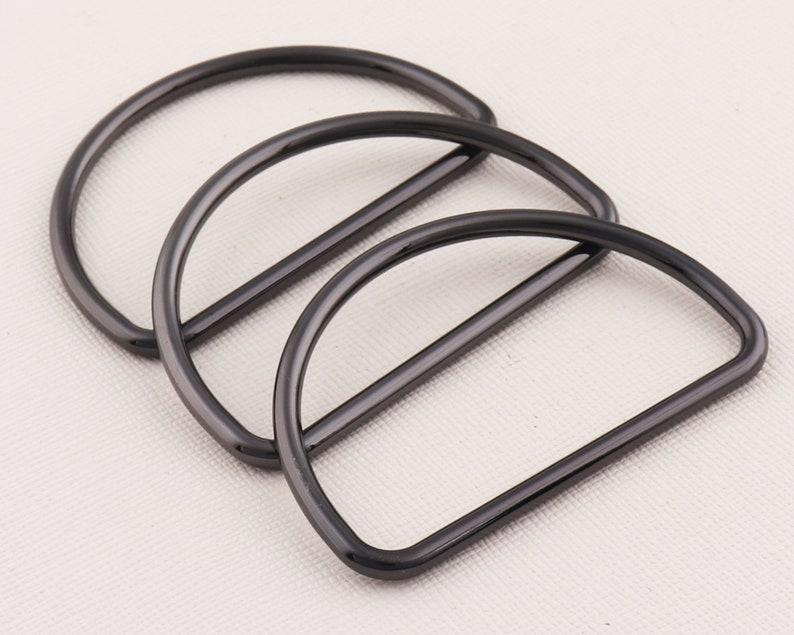 Purse ring Metal D rings Purse Bag Making Supplies,Adjustment and Webbing Connection Handbag D rings,belt rings buckles sewing rings