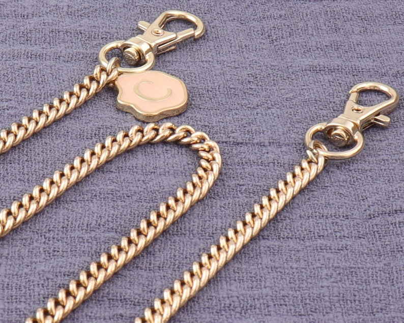 120cm Gold Purse Replacement Chains with Lobster Swivel
