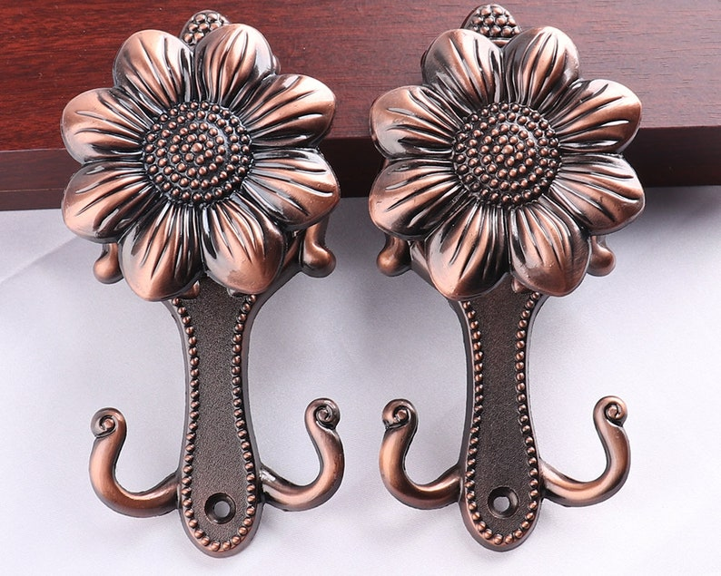 14cm Antique Curtain Tie Backs Hook Wall Curtain Hook C