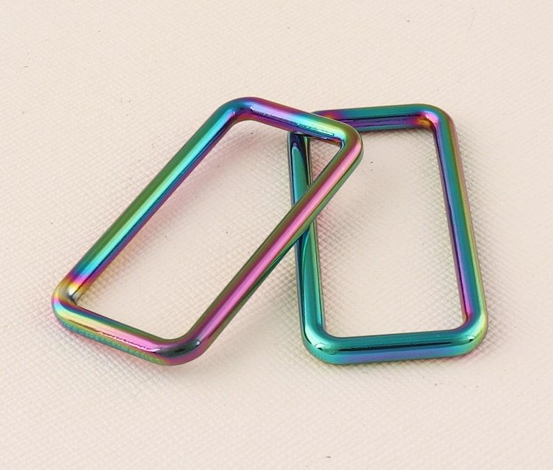 12pcs Belt buckles Rainbow buckles Metal buckle Handbag