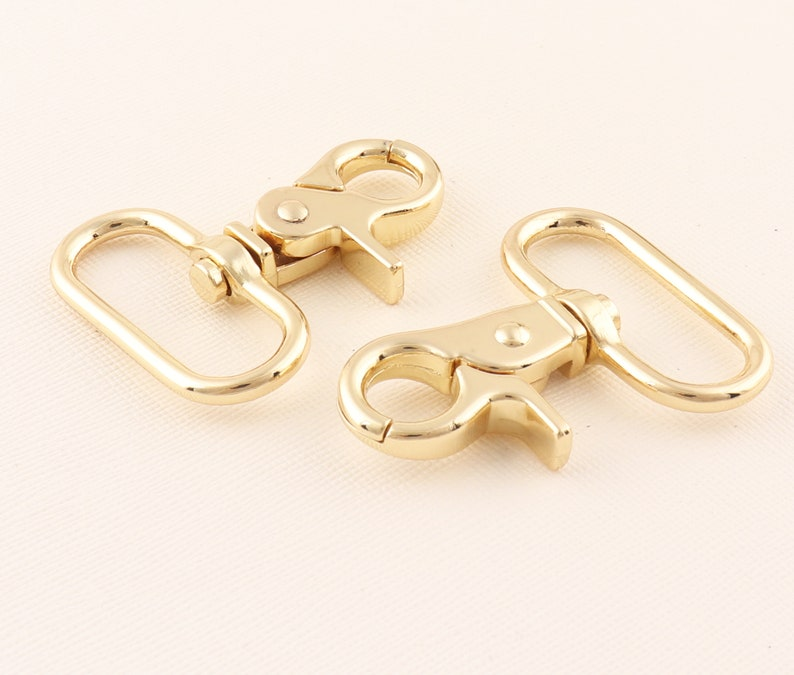 Chain clasp Spring clasp Metal clasps Purse clasp 32mm