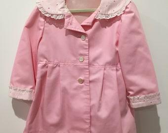 Vintage girls spring coat