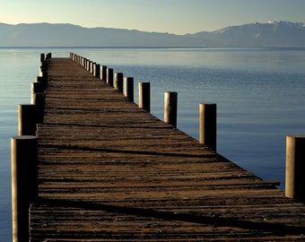 The Dock, Tahoe City, CA, Photography
