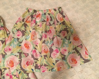 Rosey Twirly Skirt