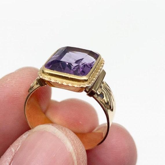 Bishop Ring In 18k Rose Gold - image 2