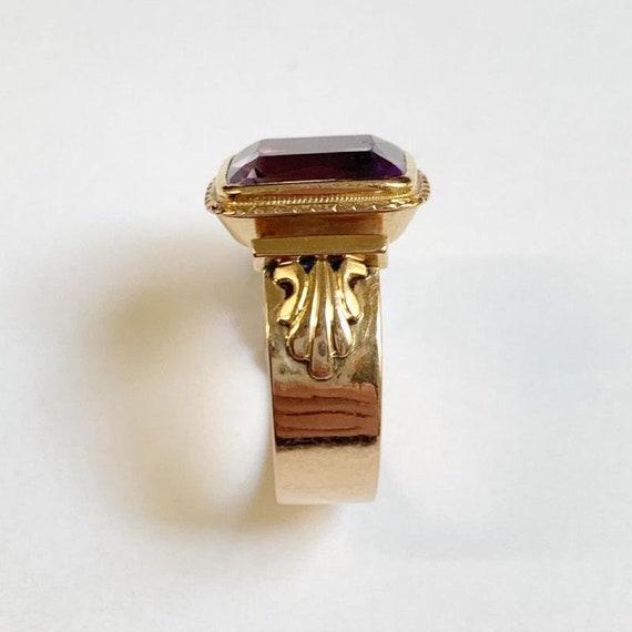 Bishop Ring In 18k Rose Gold - image 3