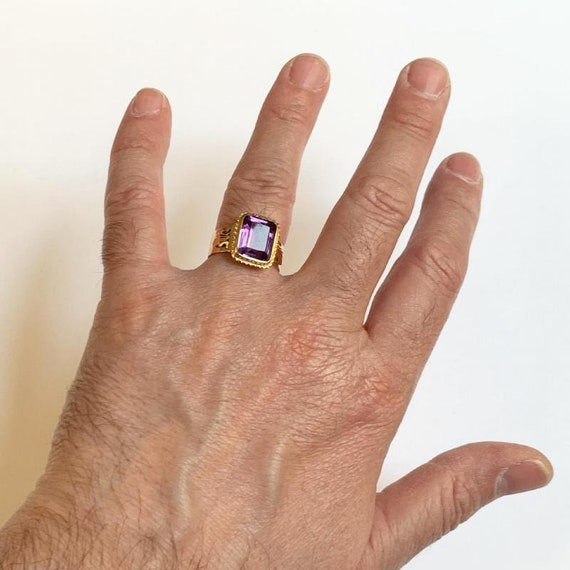 Bishop Ring In 18k Rose Gold - image 5