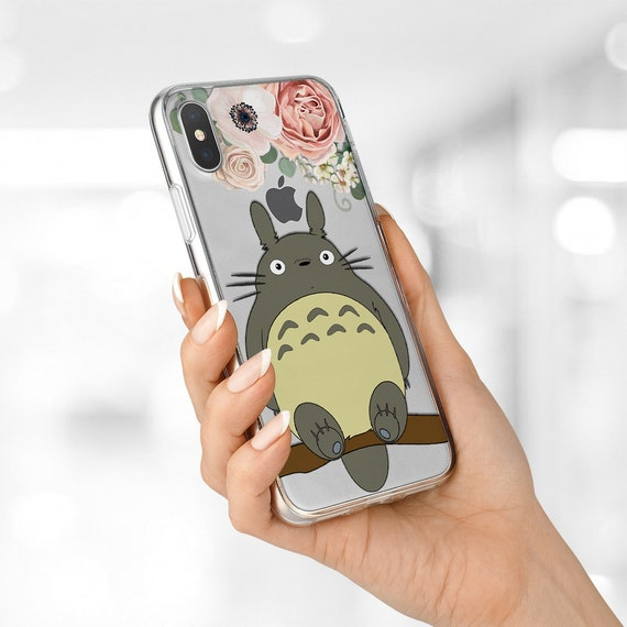 low priced ece0b 56776 Studio Ghibli Phone case Cute Totoro iPhone 8 case iPhone XS case Galaxy S9  plus case Google Pixel XL case Samsung Note 8 case Silicone case