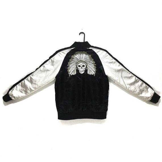 Vintage SUKAJAN APESTEIN Reversible Jacket Skull E