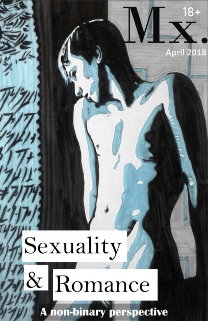 Mx. Sexuality Zine Digital Copy DIY made by non-binary image 0