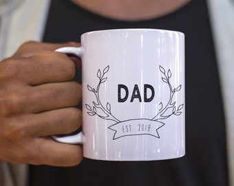Fatheru0027s Day Mug New Dad Present Dad Gift New Dad Gift Funny Dad Present 110z Mug & Fatheru0027s Day Mug Canu0027t Be Trusted at Home Depot Dad | Etsy