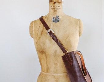 Handmade Amish Genuine Leather Purses ~~~ Black/ Brown~~~Western Vibe