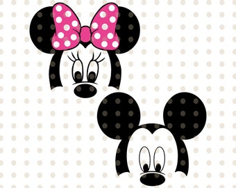 picture regarding Minnie Mouse Face Template Printable identify Minnie mouse deal with Etsy