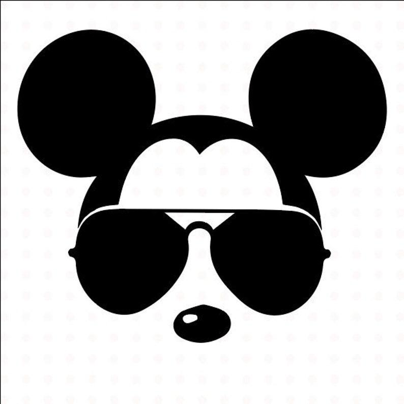 5e1a6f6453 Mickey Mouse SVG sunglasses Disney Mickey Mouse sunglasses