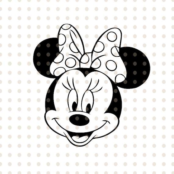 Minnie Maus Kopf Vorlage