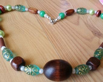 Green Garden Dreams Necklace