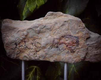 """Cave Art """"Bison Hunt 1"""" Unique Modern Sculpture"""