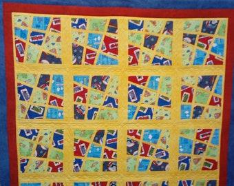 Crazy quilt for Kids