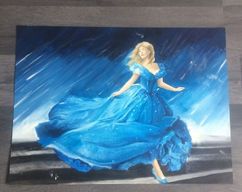 Cinderella Oil Painting
