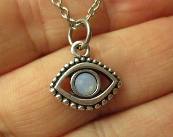 Evil Eye Necklace, Protection Necklace, Yin and Yang Necklace