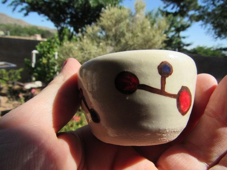 Hand Made Small Dish Molecule Design