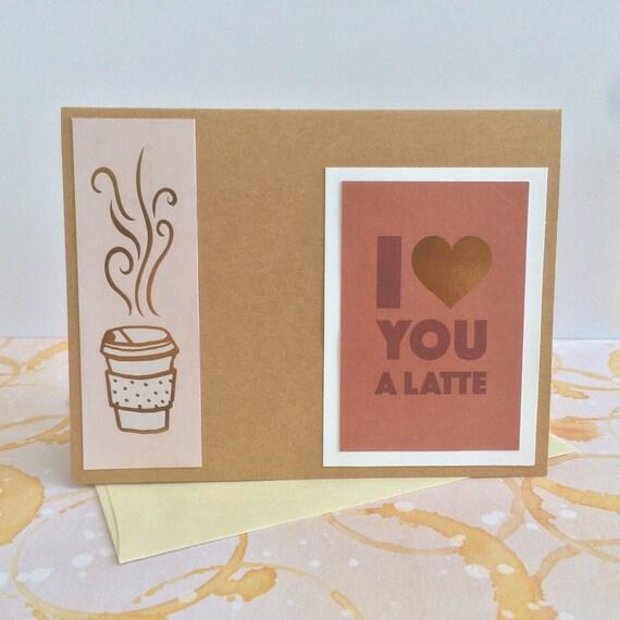 Coffee Lovers Cards Greeting Birthday Rose