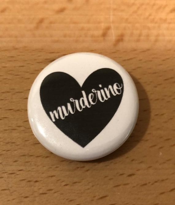 MFM Murderino ButtonKeychainMagnet