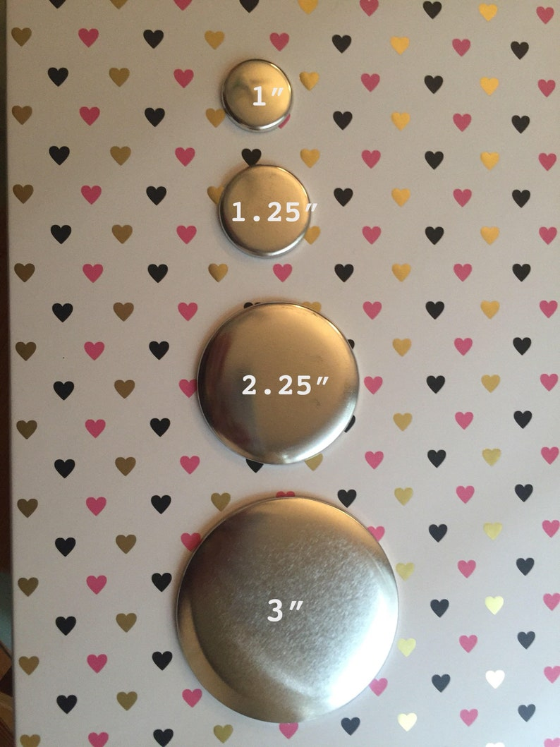 Customizable ButtonKeychainMagnet