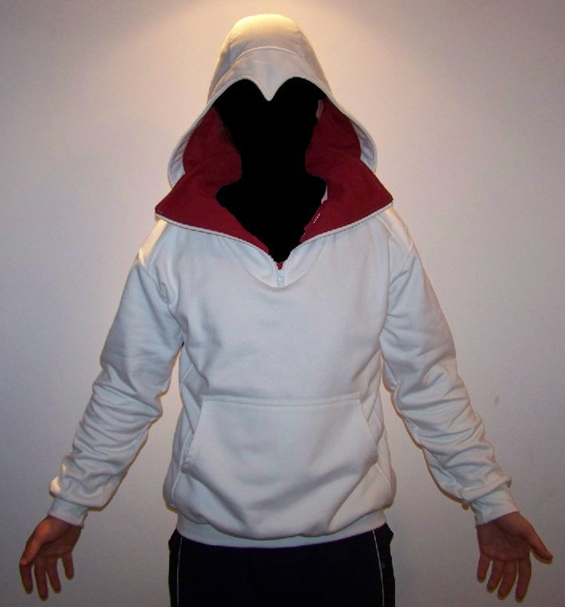 Hoodie Inspired in Assassin's style2 White